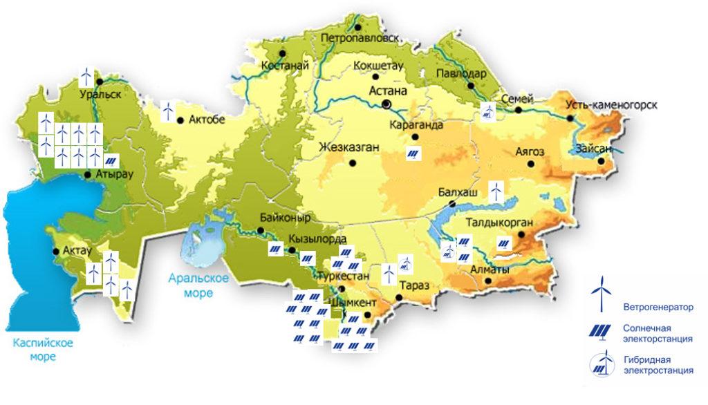 Картинки физической карты казахстана